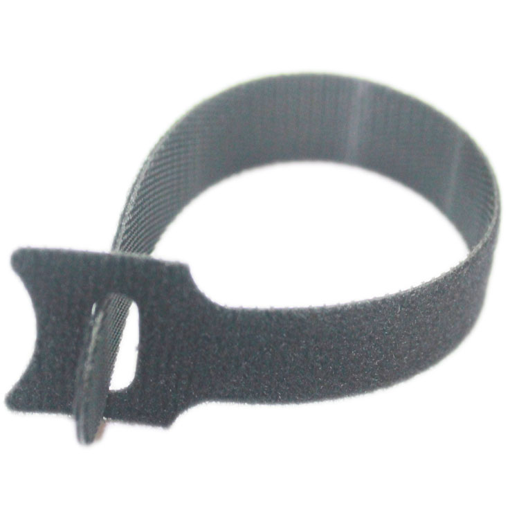 d70037b35a0d plastic hook and loop tape 150mm length Velcro cable ties with nylon  material